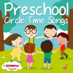 60 Sing-along fun songs for Preschool circle time! #preschool #kidsongs