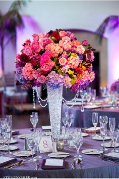 Melissa Musgrove Photography Santa Barbara Wedding Purple And Pink Details