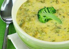 Broccoli & Gorgonzola Cheese Soup
