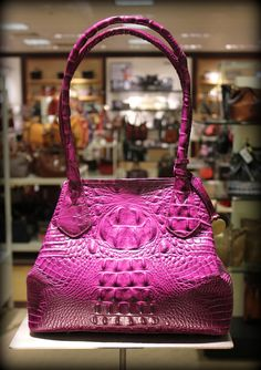 Brahmin handbag in hot pink.  Someday I'll own one of these!