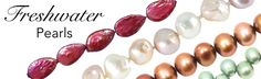 Shop Freshwater Pearls at jbcbeads.com! We have a phenomenal selection of freshwater pearls beads for every pearl jewelry project! Shop now at JBCBeads.com #jewelry #pearls #beading #jewelrymaking #diy #beads