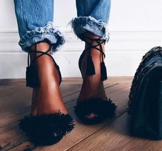 fringe shoes