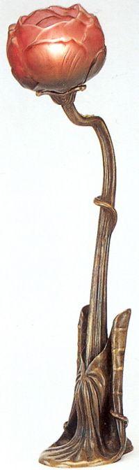 Louis Majorelle, Nénuphar Table Lamp, c.1900,