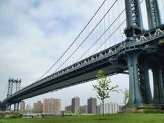 One of my favorite runs is over the Manhattan Bridge