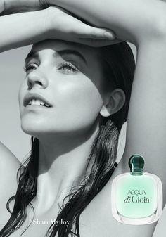 Armani Acqua di Gioia 2016 perfume campaign -  Barbara Palvin