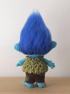 *************************************************************************** This listing is for a PDF PATTERN (English) and not the finished troll. *************************************************************************** Crochet your very own Branch from the movie Trolls. This