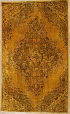 Orientteppich  Vintage modern Handgeknüpft  242 x 168 carpet alfombra oriental