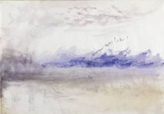 Joseph Mallord William Turner 'A Steamboat and Crescent Moon', c.1845 © Private…