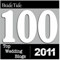 Bride Tide Top 100 Blogs 2011