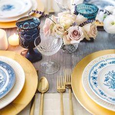La Tavola Fine Linen Rental: Dupionique Iridescence Silver Table Runenr with Tuscany Ocean Napkins Lakeside Wedding, Rustic Wedding, Blue Wedding, Wedding Bells, Wedding Reception, Destination Wedding, Dream Wedding, Boho Chic, Dining Decor