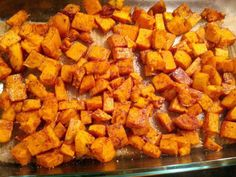 Today's recipe is easy, requires few ingredients, and is full of flavor! I am always on the lookout for sweet potato recipes because they are so nutritious. My husband took one bite of these potato...