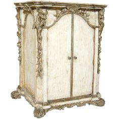 Gray Morell - 17th C. Venetian Baroque Reliquery/Cabinet (GMD#2368) -... ($4,800) ❤ liked on Polyvore featuring home, furniture, storage & shelves, cabinets, fillers, backgrounds, grey cabinets, gray cabinets, grey furniture and gray furniture