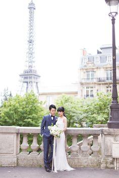 Paris wedding photo by Floraison パリウェディングフォト