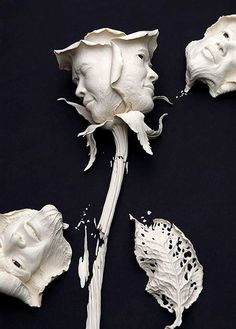 Something quite interesting...Amazing Ceramic Sculptures by Johnson Tsang.
