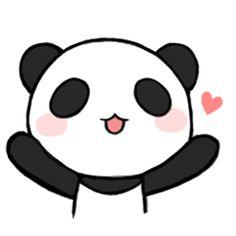 Resultado de imagem para panda fofo