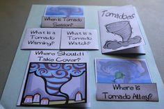 Tornado peek a boo answer page - science project School Science Projects, Elementary Science, Science Classroom, Science Lessons, Science Crafts, Science Fun, Classroom Activities, Tornados, What Is A Tornado