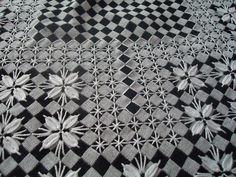 Bordado em xadrez