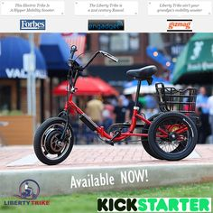 Have you pre-ordered your Liberty Trike yet? If not, do so now on #Kickstarter!