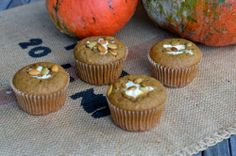 Pumpkin Cream Cheese Muffins   entertaining by the bay #recipe