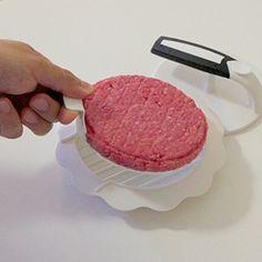 This makes life easier http://www.amazon.com/Hamburger-Christmas-Kitchen-Accessory-Guarantee/dp/B00O3DIF0M/ref=sr_1_99?ie=UTF8&qid=1413415053&sr=8-99&keywords=hamburger+press