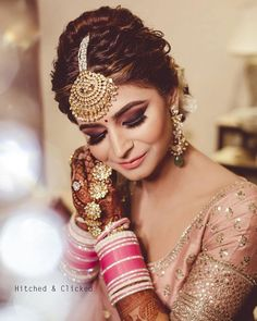 Buy beautiful Designer fully custom made bridal lehenga choli and party wear lehenga choli on Beautiful Latest Designs available in all comfortable price range.Buy Designer Collection Online : Call/ WhatsApp us on : Bridal Hairstyle Indian Wedding, Indian Wedding Bride, Indian Bridal Hairstyles, Indian Bridal Makeup, Indian Bridal Wear, Bun Hairstyles, Hairstyle Photos, Indian Weddings, Bridal Poses