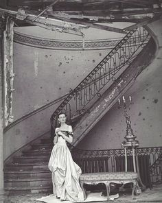 1947. British Vogue. Photo by Clifford Coffin (B1913 - D1972)