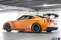 R35 GT-R i like that the stickers are low and the spoiler is skeletonish