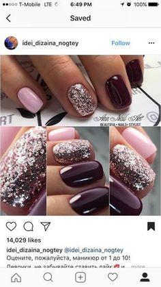Short Nail Glam