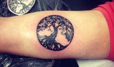 Tatuajes de árboles de la vida - http://www.tatuantes.com/tatuajes-de-arboles-de-la-vida/ #tattoo
