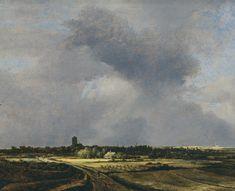 Ruysdael - vue de Naarden 1647