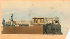Design for a royal palace at the Acropolis, Athens