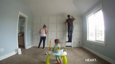 DIY BOARD AND BATTEN STATEMENT WALL (with video tutorial) | withHEART