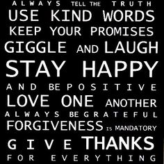 Be kind in the words you chose to use with another.  With that said, Have a wonderful, uplifting, positive, fun filled day!  Mara/Operation Shape Up