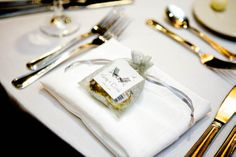 Favors at each place setting