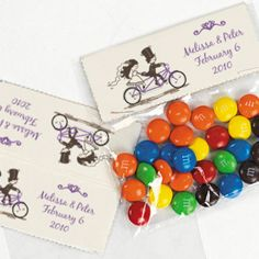 Bicycle Treat Bags, Bicycle Theme candy Bags,Tags and Labels, Bicycle Wedding, Bicycle Party, Bicycle Tandem Wedding