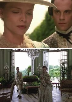 Vicomte de Valmont: You see, I have no intention of breaking down her prejudices. I want her to believe in God and virtue and the sanctity of marriage, and still not be able to stop herself. I want the excitement of watching her betray everything that's is most important to her... ~Dangerous liaisons