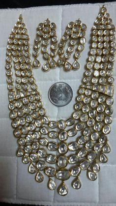 Indian#kundan bride jewellry