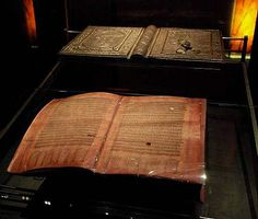 "The Silver Bible, Codex argenteus - which means the ""Silver Book"" - is Sweden's most valuable book and one of the world's most famous manuscripts. It was written in Italy at the beginning of the 6th century."
