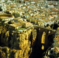The town of Ronda, province of Malaga - Andalusia, Spain Places Around The World, The Places Youll Go, Places To See, Around The Worlds, Ronda Malaga, Voyage Europe, Cadiz, Spain And Portugal, Spain Travel