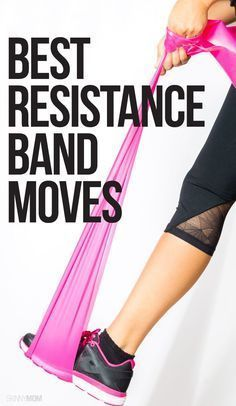 Total-body resistance band workout!                                                                                                                                                                                 More