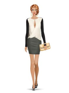 Styled with: Yosi Samra, Twenty, Halston Heritage, Cashhimi, Rebecca Minkoff   Create your own look with Covet Fashion