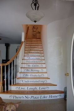 Cool, except that I wouldn't do that on every darned stair. A little busy for my taste.