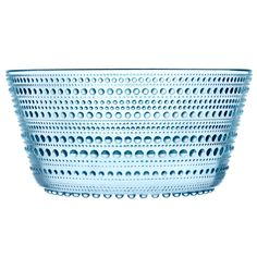 iittala Kastelhelmi Dewdrop Light Blue 2 qt Bowl Serve up a savory pasta or salad in this see-though serving dish. With a ribbed outer body and an oh-so-smooth interior, this Kastelhelmi Dewdrop Light Blue 2 qt Bowl is both a beautiful talking piece,. Green Desserts, Dessert Bowls, Tea Light Holder, Transparent, Helsinki, Decoration, Bowl Set, A Table, Kitchen