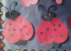 Valentines Day Craft for Kids! Valentines Day Love Bugs #valentinesday #craft