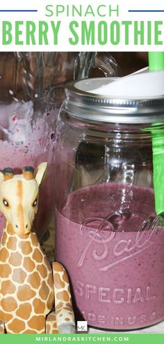 Everybody needs more greens! If you don't enjoy greens try drinking them in this berry yogurt spinach smoothie. It really does make life better! I don't usually like weird smoothies but this one is good and drinkable and my kids like it too so I win. Frozen berries are economical in the winter and easy to get ahold! Don't let winter stop you from getting the food you need. #healthy #smoothie #greens #kidfood Spinach Berry Smoothie, Juice Smoothie, Smoothie Drinks, Smoothie Recipes, Drink Recipes, Detox Drinks, Smoothies For Kids, Healthy Smoothies, Healthy Food