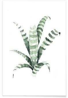 Tiger en Affiche premium par Annet Weelink Design | JUNIQE