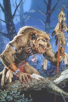 A shaman werewolf How many memories. I think I saw this picture for the first time, a werewolf shaman, in a supplement to the game We. Expositions, Fantasy Inspiration, My Favorite Image, Fantastic Art, Awesome, Sci Fi Fantasy, Artist Names, Science Fiction, Nativity