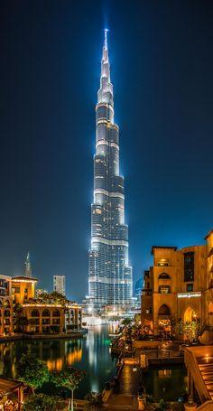 ღღ Dubai - The Burj Khalifa Glowing by Jean Claude Castor on 500px