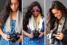 Pretty Custom Camera Strap | 20 DIY Mother's Day Gifts All Under $20 And 20 Minutes
