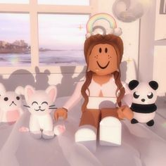 🥺🥺🥺🥺🥺🥺 Roblox Funny, Roblox Roblox, Play Roblox, Aesthetic Pastel Wallpaper, Aesthetic Wallpapers, Spongebob Painting, Cookie Swirl C, Besties, Cute Tumblr Wallpaper